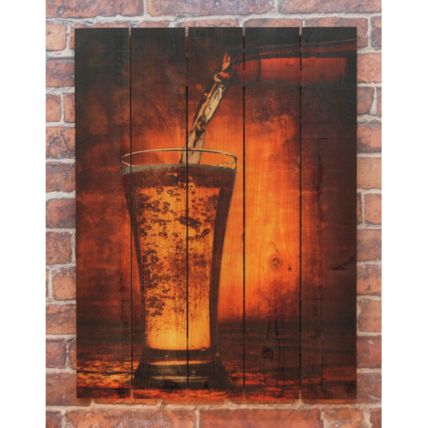 Amber Ale Toast Wall Art