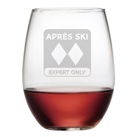 Après Ski Stemless Wine Glasses (set of 4)