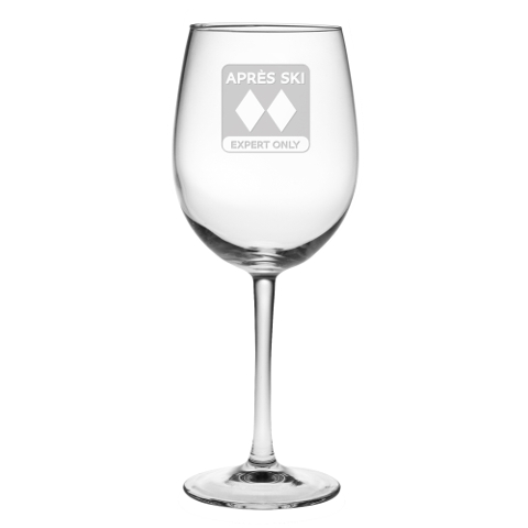 Après Ski Stemmed Wine Glasses (set of 4)