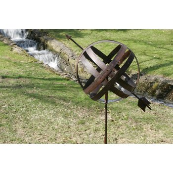 Barrel Ring Armillary Garden Decor