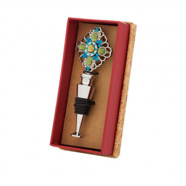 Bejeweled Wine Bottle Stopper