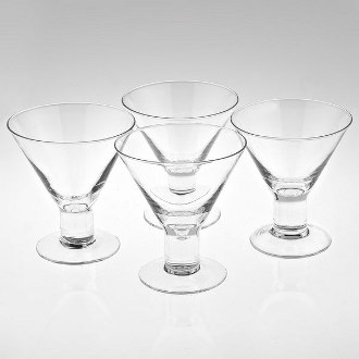 Caprice 6 oz. Martini Glasses (set of 4)
