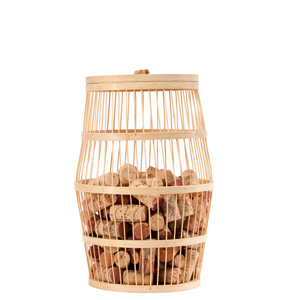 Wine Barrel Bamboo Cork Collectors
