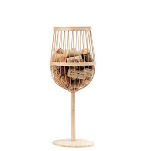 Bamboo Cork Collectors, Wine Glass