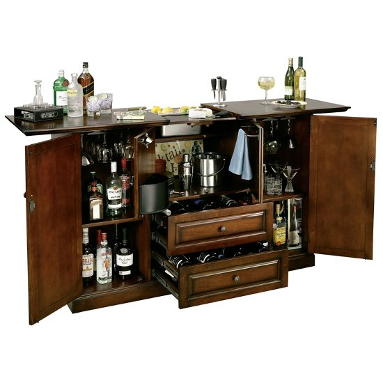 Howard Miller Bar De Vino Hide-a-Bar Home Furniture