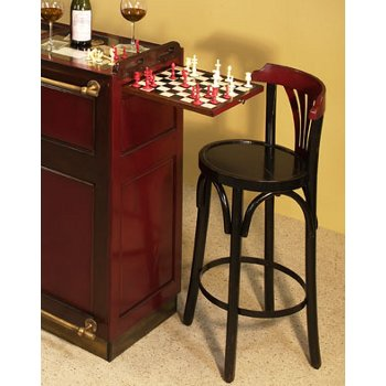 Authentic Models De Luxe Grand Hotel Bar Stool