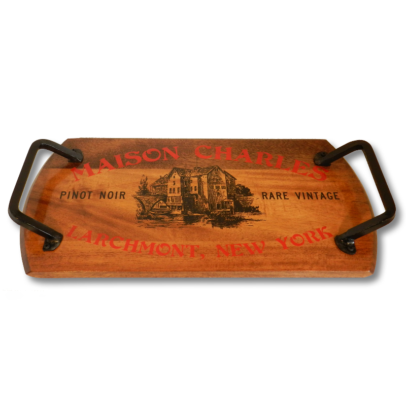Barrel Head Bistro Serving Tray