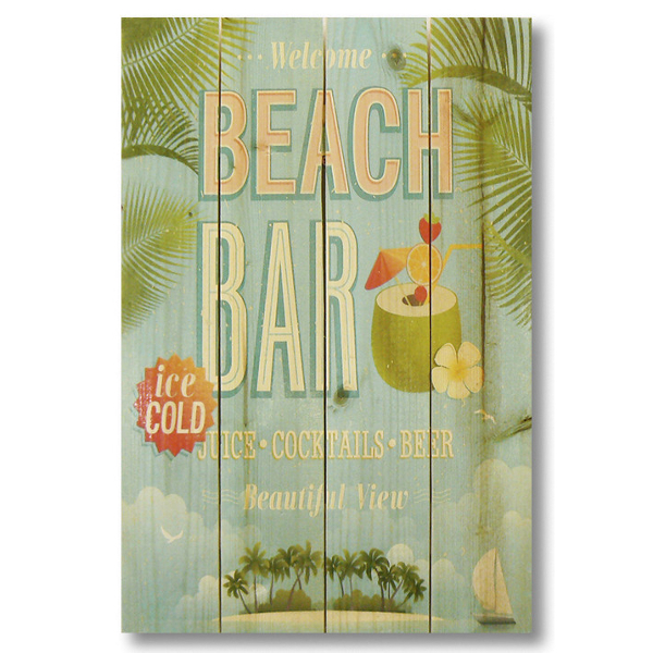 Beach Bar Gizaun Wall Art