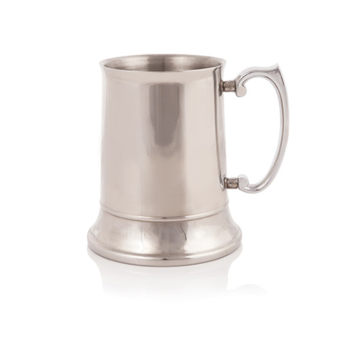 Stainless Steel Beer Tankard