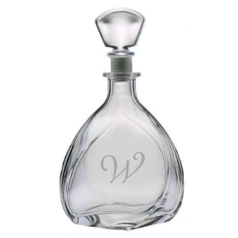 Personalized Bormioli Liszt Whiskey Decanter