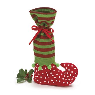 Elf Boot Bottle Bag