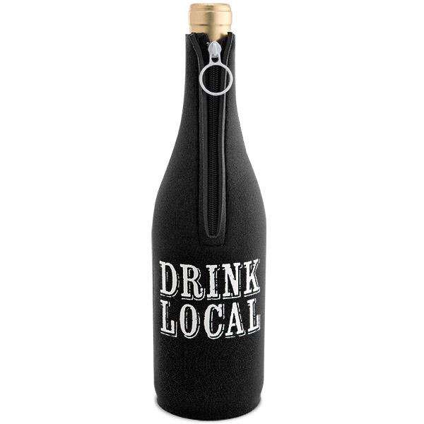 Drink Local Neoprene Wine Bottle Epicool
