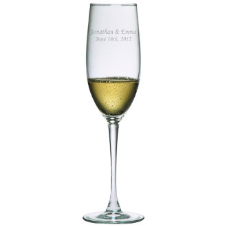 Bridal Champagne Toasting Flutes (set of 2)