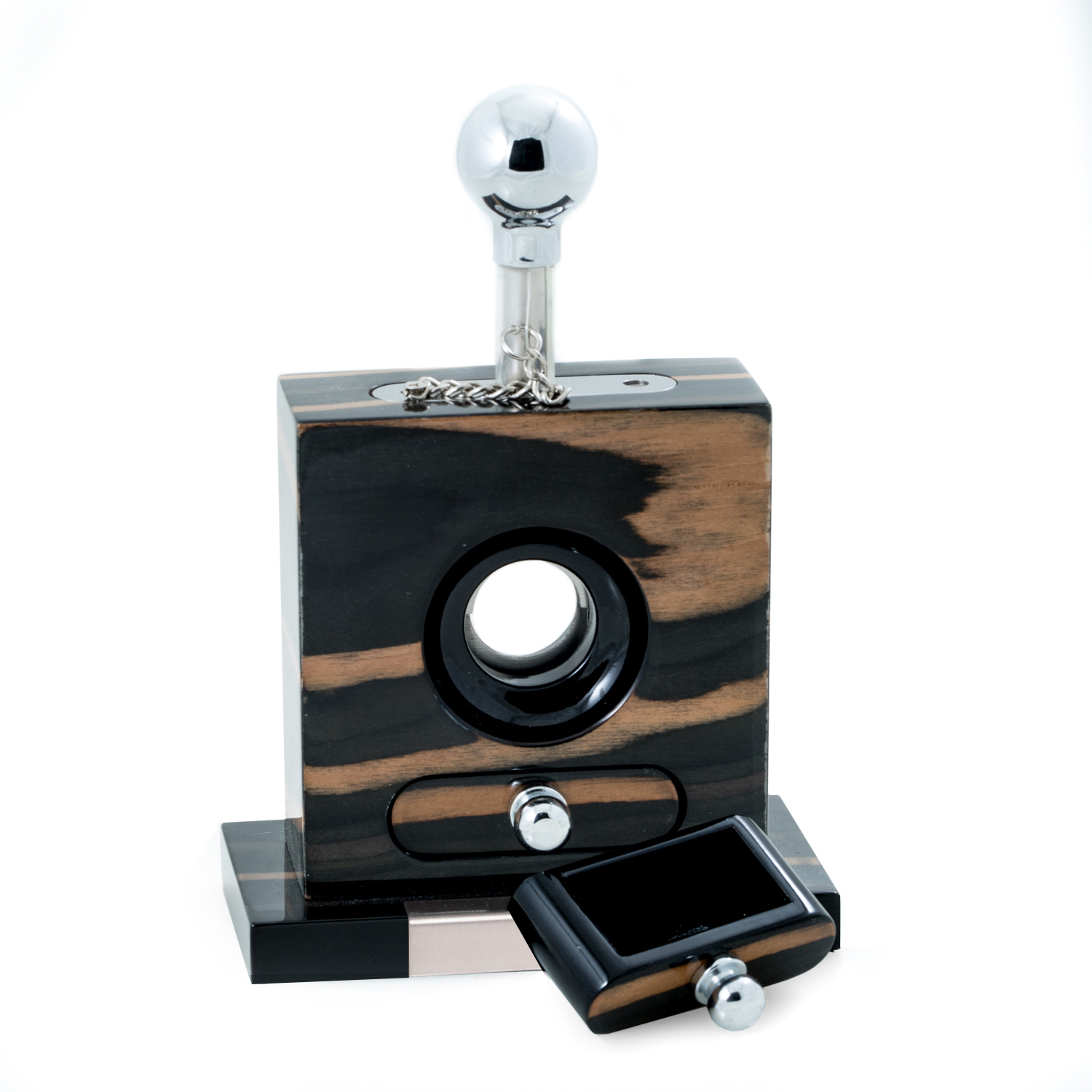 Table Top Ebony Cigar Cutter