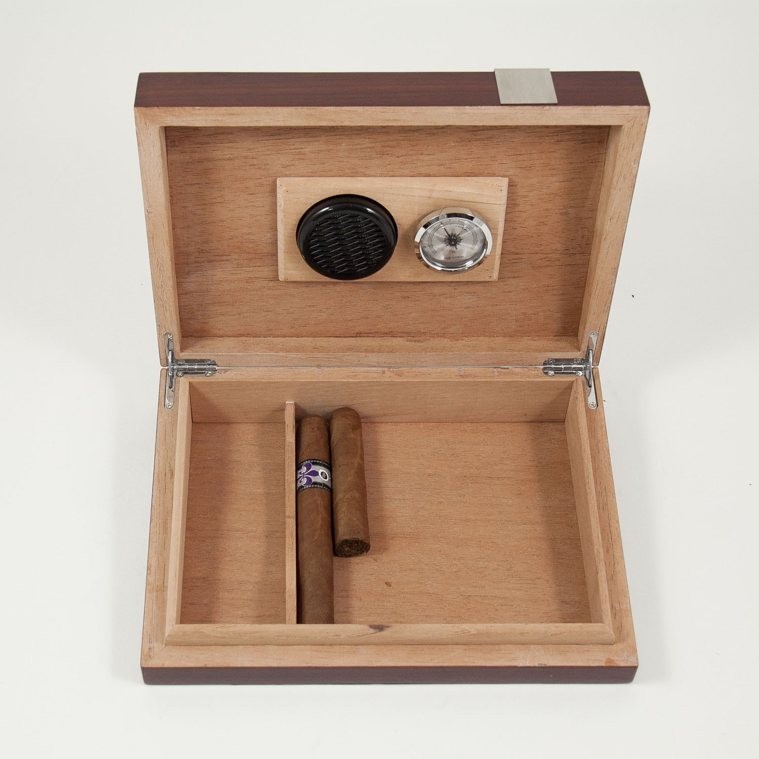 12 Cigar Walnut Humidor