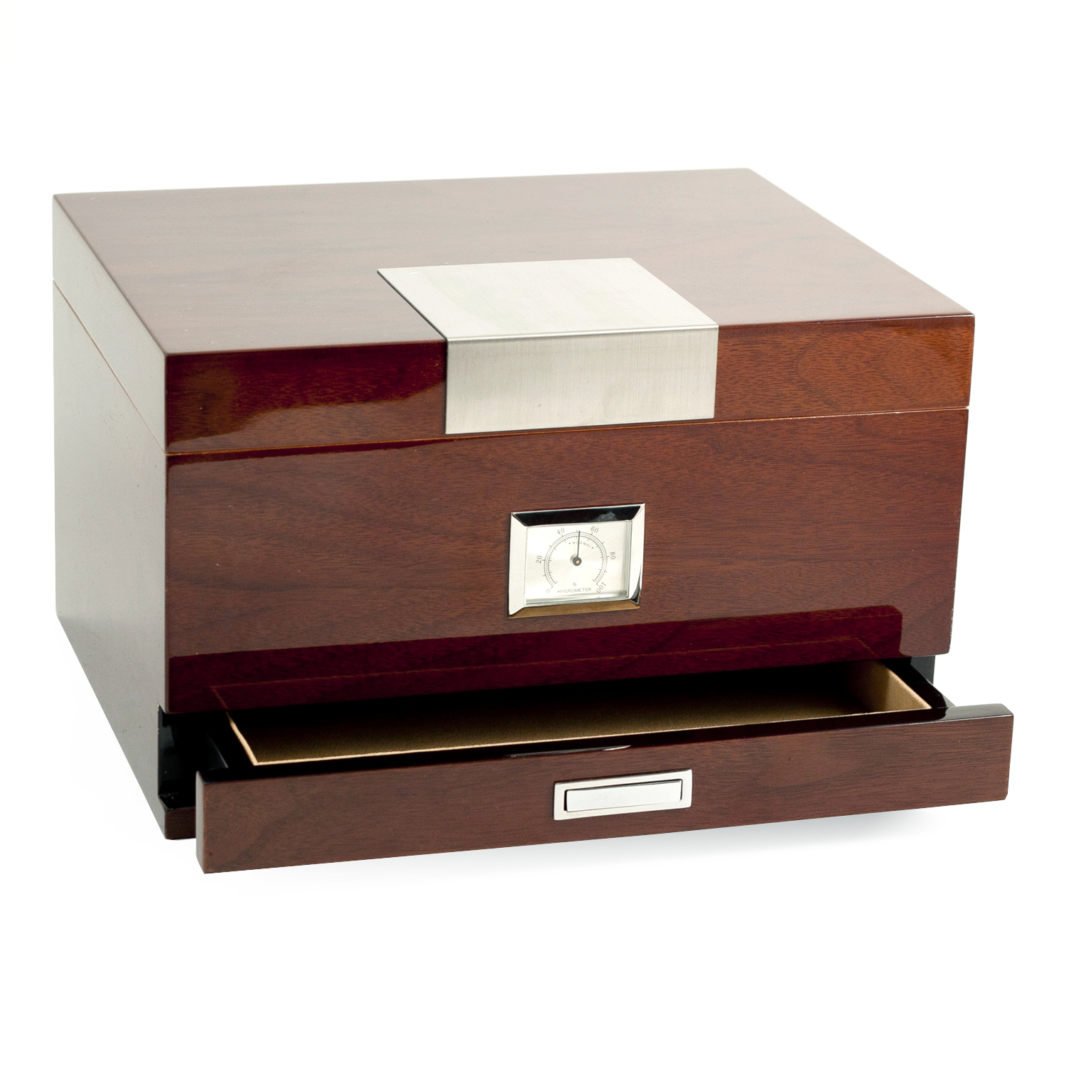 60 Cigar Walnut Humidor