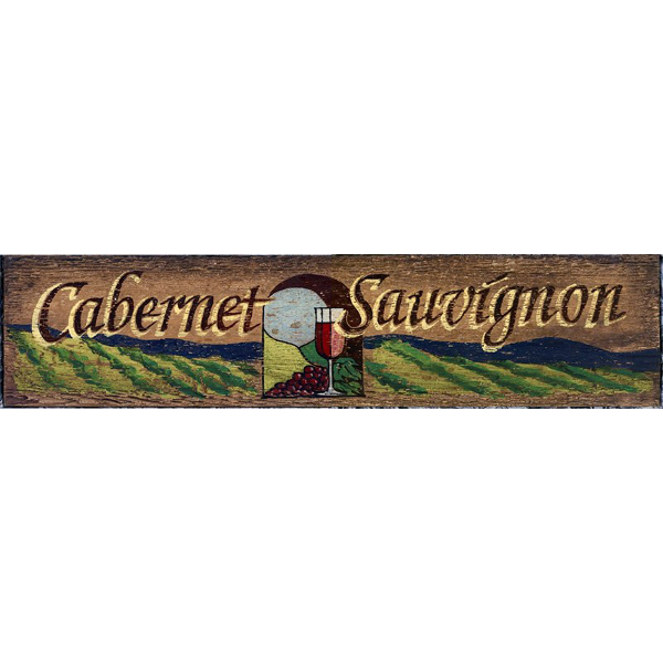 Cabernet Sauvignon Wine Sign