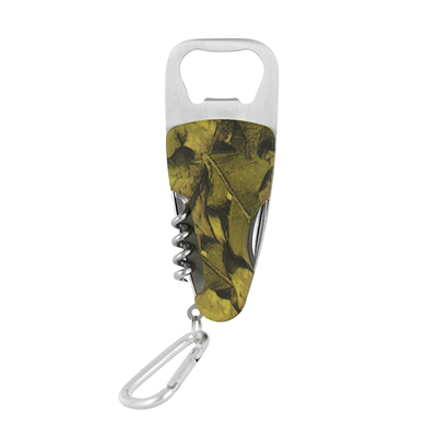 Camo Wine Corkscrew Gizmo and Beer Bottle Opener (set of 72)