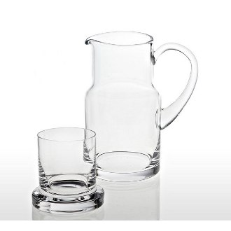 Badash Water Carafe with Glass