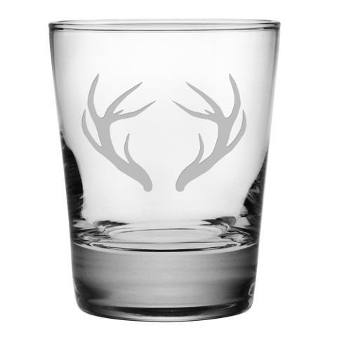 Caribou Antlers DOF Glasses (set of 4)