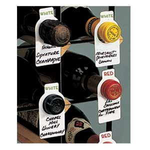 100 Wine Tags Cellar Set w/ Pen