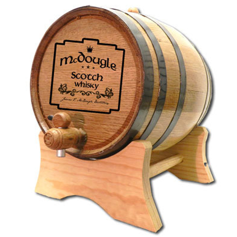 Celtic Plate Personalized White Oak Aging Barrel
