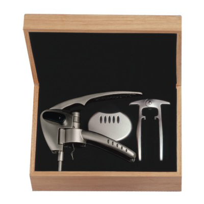 Swift Turn Professional Champagne Opener Box Set