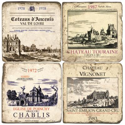 Chateau Marble Coasters