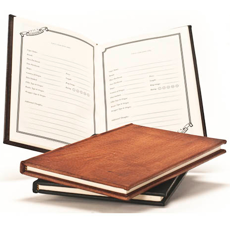Italian Leather Cigar Journal with Option to Personalize
