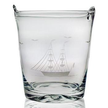 Clipper Ship Ice Bucket Wine Chiller