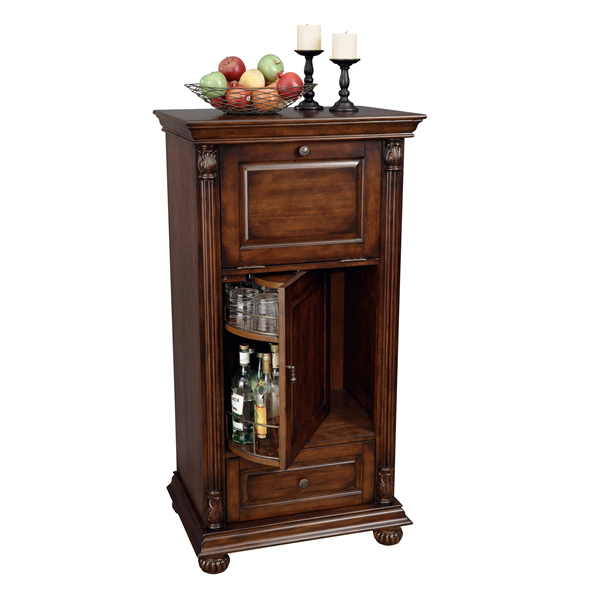 Howard Miller Cognac Wine & Bar Cabinet