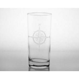 Compass Rose Cooler Glasses