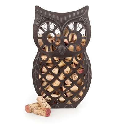 Wise Owl Cork Collector by Country Cottage
