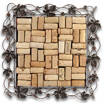 Woven Metal Cork Collector's Tray