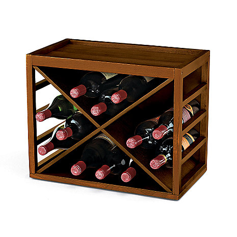 Cube Stack X-Style Stackable Wine Rack