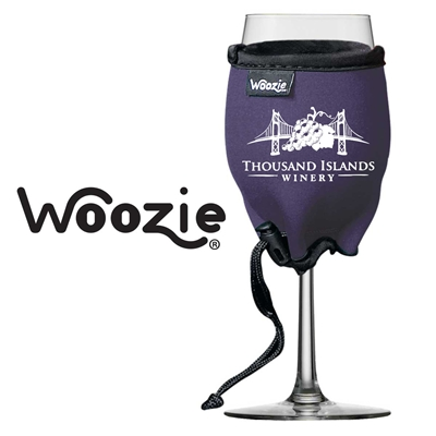 Woozie Wine Glass Koozie with Logo (set of 72)