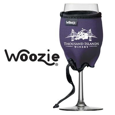 Woozie Wine Glass Koozie with Logo (set of 72)