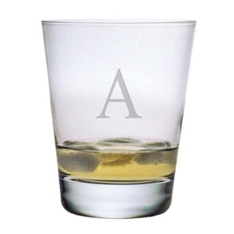 Customized Single Letter DOF Glasses (set of 4)