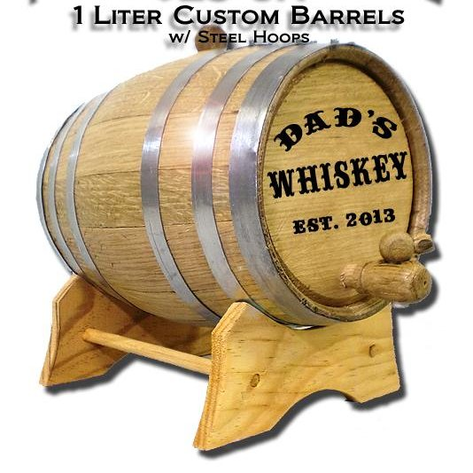1 Liter Custom Barrel