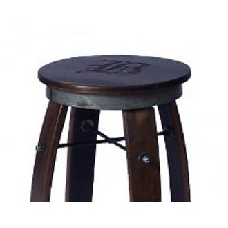 Daisy Swivel Stave Stool Replacement Top