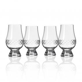 Diamond Glencairn Whiskey Glasses (set of 4)