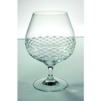 Diamond Cut Brandy Glasses (set of 4)