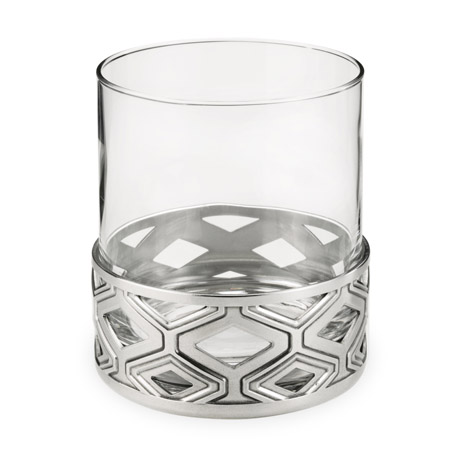 Diamond Pewter Base Cocktail Tumbler