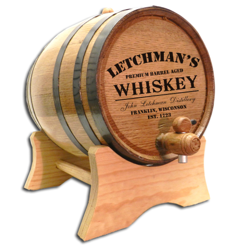 Distillery Make Your Own Spirits Personalized Oak Aging Barrel