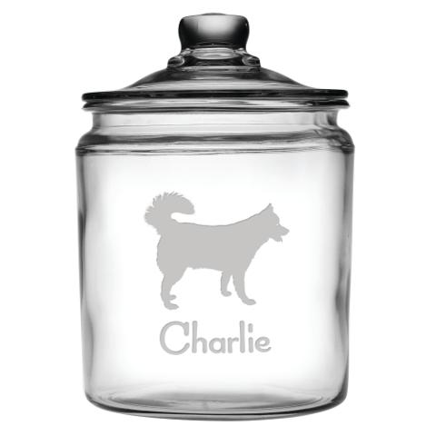 Personalized Pet Breed Treats Jar