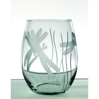Dragonfly Red Wine Tumblers (set of 4)