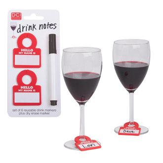 Drink Notes Beverage Markers