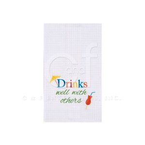 Drinks Well With Others Towel