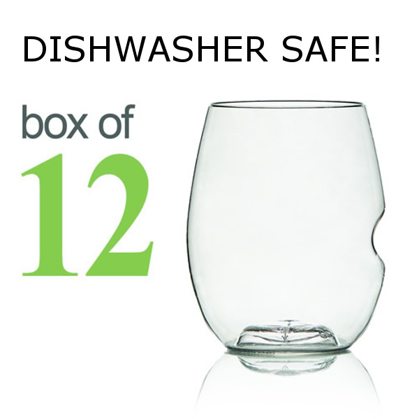 GoVino Cocktail Glasses Dishwasher Safe (Box of 12)