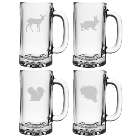 Assorted Eastern Wildlife Beer Mugs